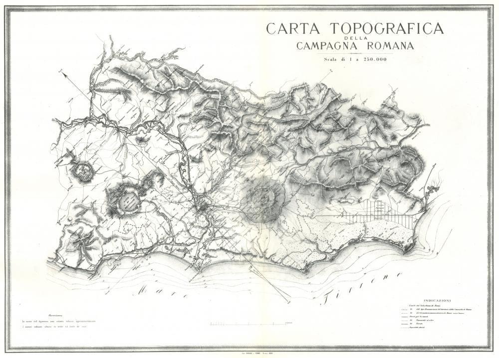 Cartina Topografica Del Lazio.Rappresentazioni Cartografiche Storiche Del Lazio Geoportale Cartografico Citta Metropolitana Di Roma Capitale